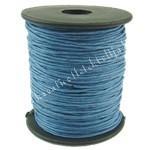 Viaszolt zsinór, 1mmx1m, kék, 1 méter