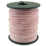 Viaszolt zsinór, 1mmx1m, rózsaszín, 1 méter