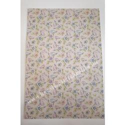 Virágmintás karton duplaoldalas 2.