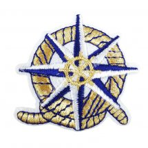Vasalható matrica, iránytű, 5x5 cm