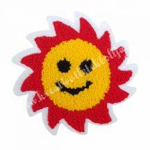 Varrható matrica, nap, 10x10 cm, 1 darab