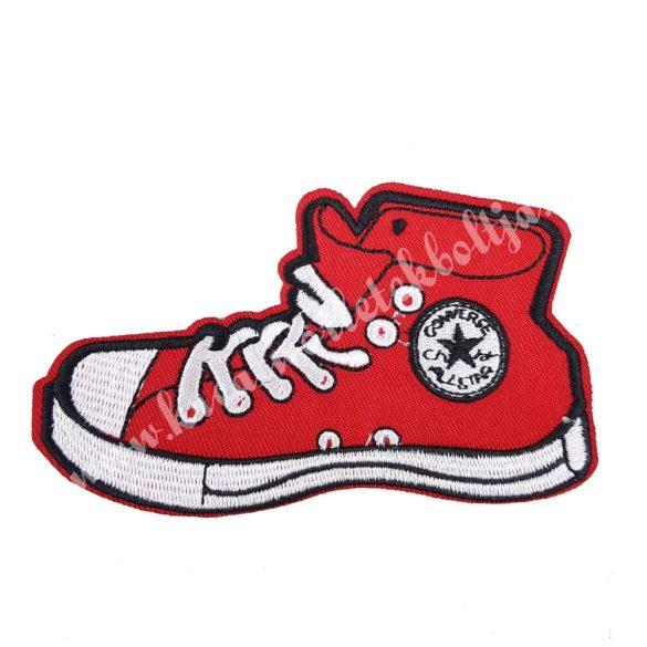 Vasalható matrica, tornacipő, 11,5x6,5 cm