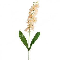 Selyemvirág, szálas harangvirág, barack, kb. 70 cm