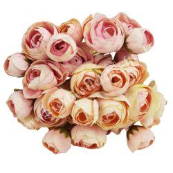 Boglárka csokor, rózsaszín, kb. 30 cm, 9 szál/csokor
