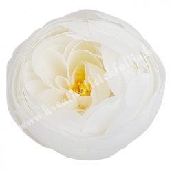 Boglárka virágfej, fehér, 7 cm