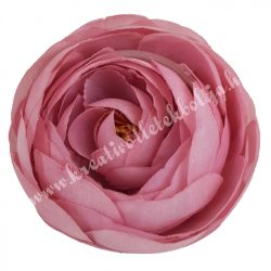Boglárka virágfej, mályva, 7 cm