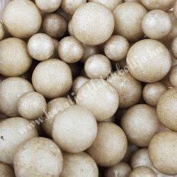 Hungarocell golyók, bézs, 0,7-1,3 cm