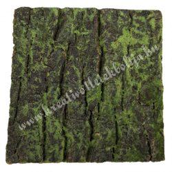 Fakéreg lap, zöld, 10x10 cm