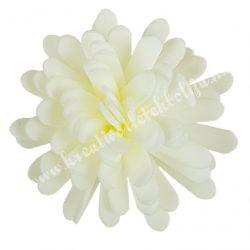 Polifoam virágfej, krém, 5 cm