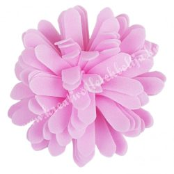 Polifoam virágfej, rózsaszín, 5 cm