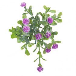 Betűzős apró virágcsokor, rózsaszín, 14 cm