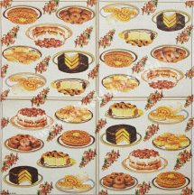Szalvéta, édesség, 32x32 cm, 1 darab