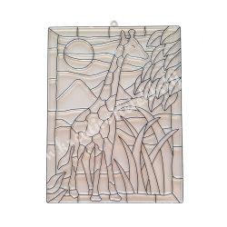 Festhető forma matricafestékhez, zsiráf